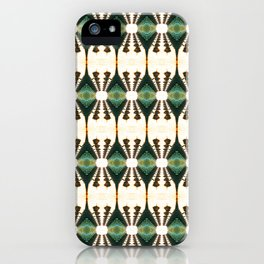 Lamp Posts Reflection iPhone Case
