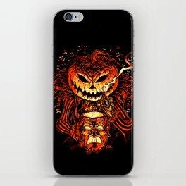 Halloween Pumpkin King (Lord O' Lanterns) iPhone Skin