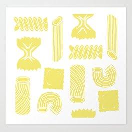 Pasta Pattern Art Print