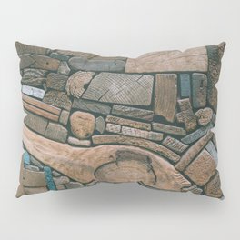 pieces of wood Pillow Sham