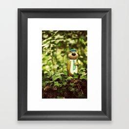 Yogi Bear Framed Art Print