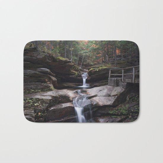 Sabbaday Falls in Autumn 2016 Bath Mat