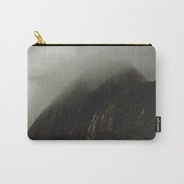Foggy Rockface Carry-All Pouch