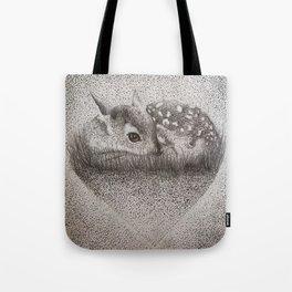 Dotty Deer Tote Bag