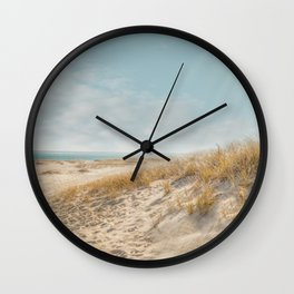 Chatham Lighthouse Beach Wall Clock