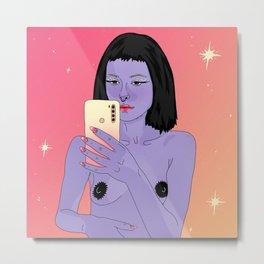 let's take a selfie 3.0 Metal Print