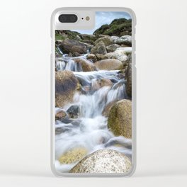 Stream Into Porth Nanven Clear iPhone Case