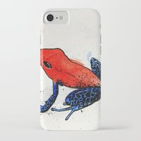 frog iPhone & iPod Cases featuring Frog by Jacob Haynes