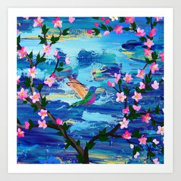 Hummingbird Spirit Art Print