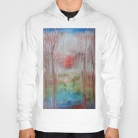 coral Hoodies featuring Coral by Terese Dombrowski