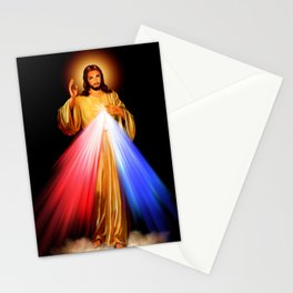 Jesus Divine Mercy I trust in you Religion Religious Catholic Christmas Gift Stationery Cards
