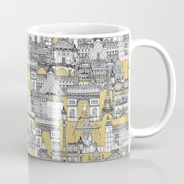 Paris toile gold Coffee Mug