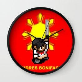 16-bit Andres Bonifacio Wall Clock