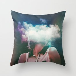 Distance On My Mind (The Clouded Diaries) Throw Pillow