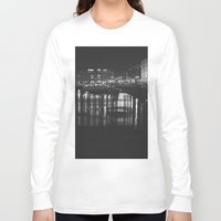 liverpool Long Sleeve T-shirts featuring The Liverpool River. by Rory-Mackenzie