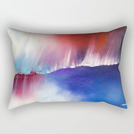 Above & Beyond by Nadia J Art Rectangular Pillow
