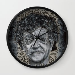 Man Without a Country Wall Clock