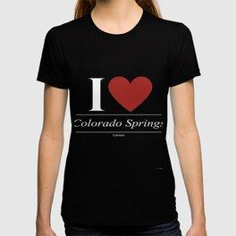 Colorado Springs Colorado CO Coloradan T-shirt
