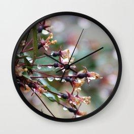 A Spring Rain Wall Clock