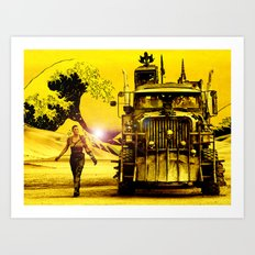Furiosa - Mad Max Fury Road Art Print