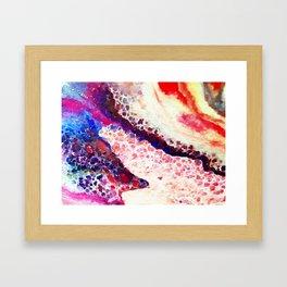 A Modern Leopard Print Abstract Framed Art Print