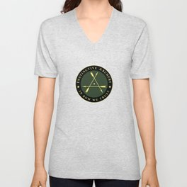 Instinctive Archers - Official patch Unisex V-Neck
