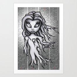 Ghost Zero Art Print