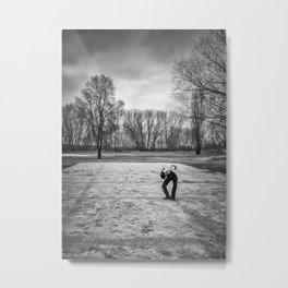 Little Human Artwork - Trees Metal Print