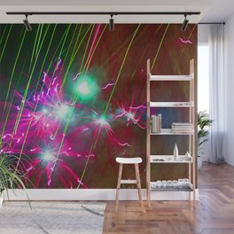 Light painting Wall Mural