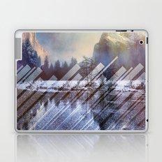 Winter Sun Rays Abstract Nature Laptop & iPad Skin