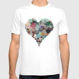 Love - Original Sea Glass Heart T-shirt
