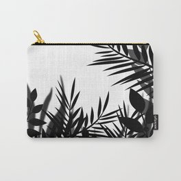 The leaves and berries. Black and white pattern . Carry-All Pouch