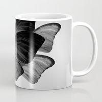 no face Mugs featuring  face  by mark ashkenazi