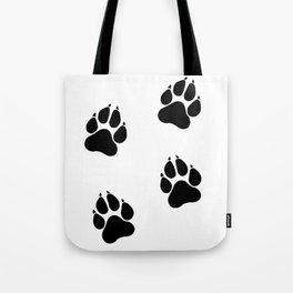 Simba's Paws Tote Bag