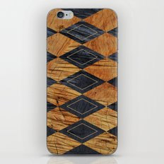 Wood cut abstraction iPhone & iPod Skin