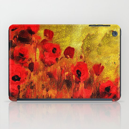 FLOWERS - Poppy reverie iPad Case