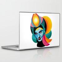 goddess Laptop & iPad Skins featuring Goddess by Alvaro Tapia Hidalgo