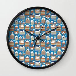 Pattern Project #40 / Little Farms Wall Clock