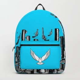 Peace of the Action BLUE / Peace concept Backpack