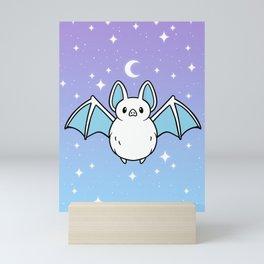 Cute Night Bat Mini Art Print