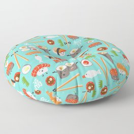 Happy Sushi Floor Pillow