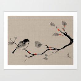 Zen Alpha 3 Art Print