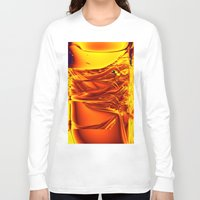 waterfall Long Sleeve T-shirts featuring waterfall by donphil