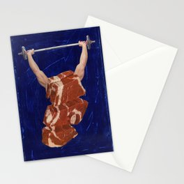 Meat Head #2 Stationery Cards