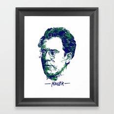 Gustav Mahler Framed Art Print
