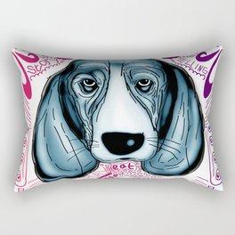 Dog Story Life Rectangular Pillow