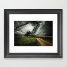 The Tornado Framed Art Print