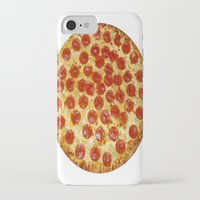 pizza iPhone & iPod Cases featuring Pizza by I Love Decor