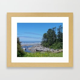 Kalaloch Creek Framed Art Print