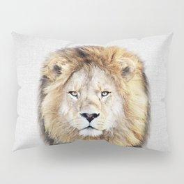 Lion 2 - Colorful Pillow Sham